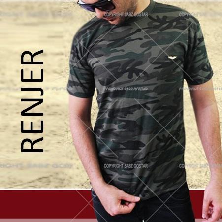 تیشرت ارتشی مردانه مدل رنجر RENJER