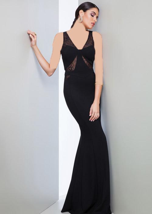 لباس شب 2017,مدل لباس مجلسی 2017,لباس مجلسی بلند