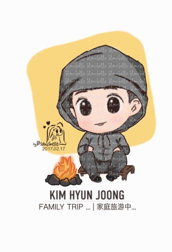 [blancbelle fanart] Kim Hyun Joong - Family Trip [2017.02.17]