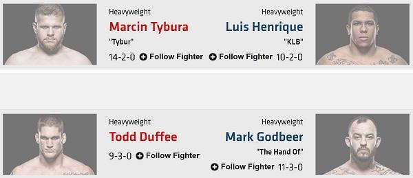 معرفی رویداد UFC 209: Woodley vs. Thompson 2 + نظرسنجی