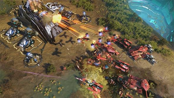 ترینر جدید بازی Halo Wars 2