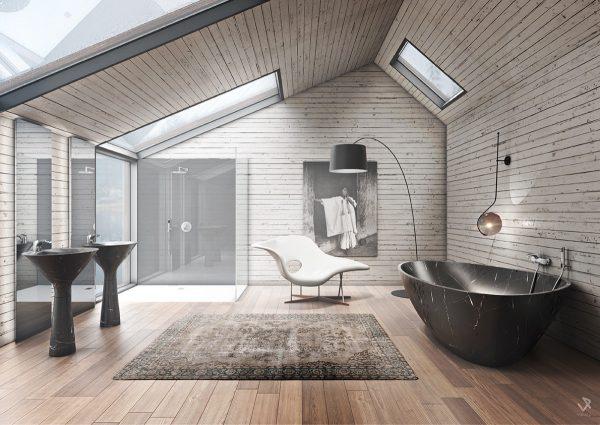 طراحی حمام2