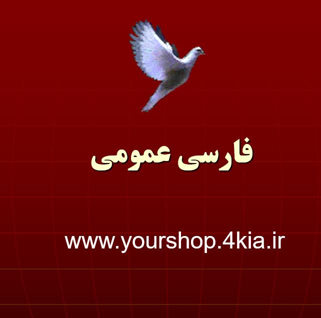دانلود جزوه فارسی عمومی پیام نور - پاورپوینت